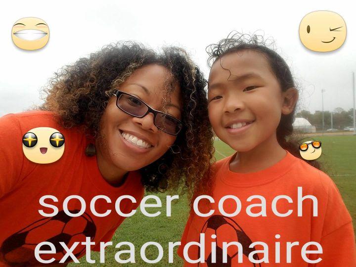 TCHE soccer coach